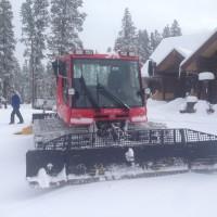 2008 PB 100 XC ski snowcat groomer