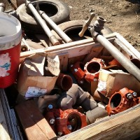 """Pipe fittings - 6"""" welded steel and 3"""" victaulic fittings"""